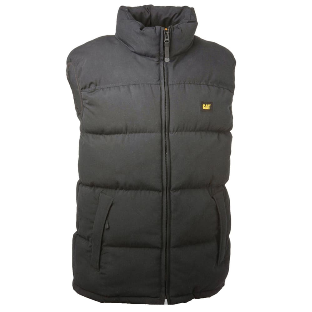 CAT Men's Quilted Insulated Vest - Black, M