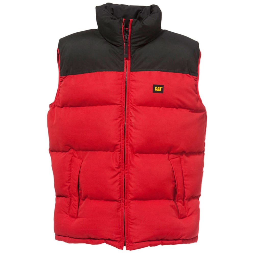 CAT Men's Quilted Insulated Vest - 382 NAVY