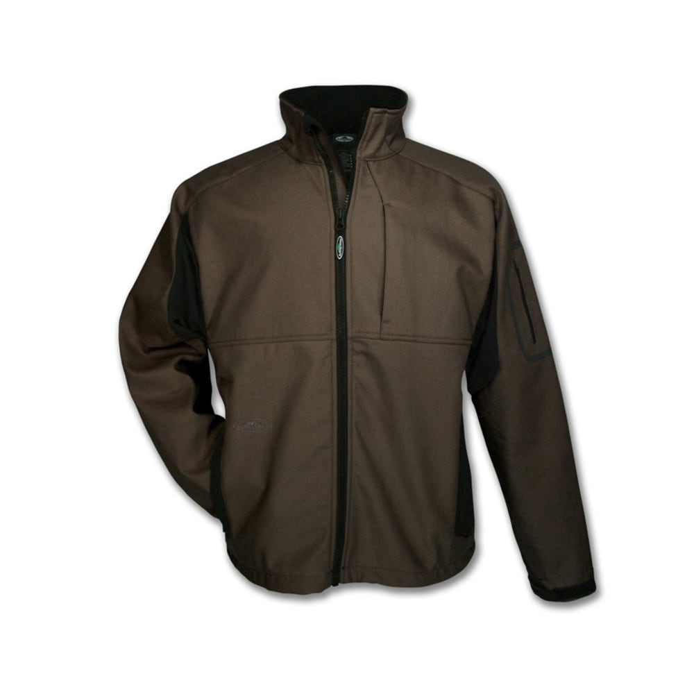 ARBORWEAR Men's Cambium Canvas Bonded Jacket - CHESTNUT