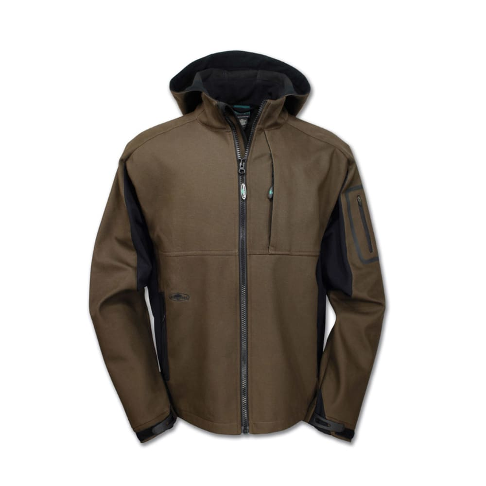 ARBORWEAR Men's Cambium Hooded Canvas Jacket - CHESTNUT