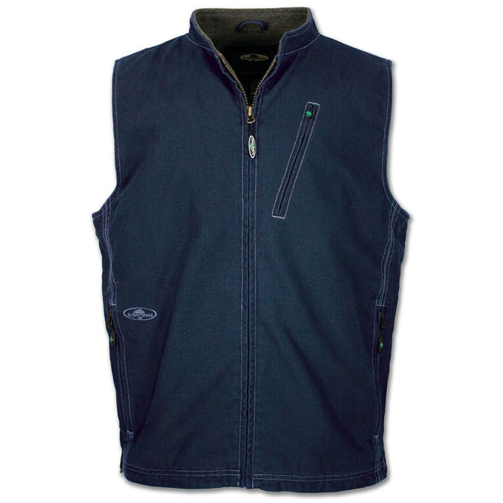 ARBORWEAR Men's Washed Canvas Vest - DIESEL