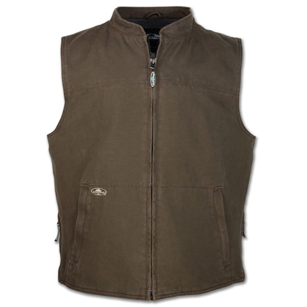 ARBORWEAR Men's Washed Canvas Vest - CHESTNUT