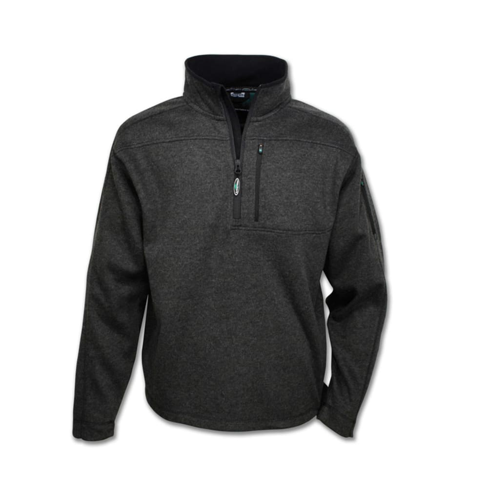 ARBORWEAR Men's Hiram Pullover 1/4 Zip Jacket - CHARCOAL