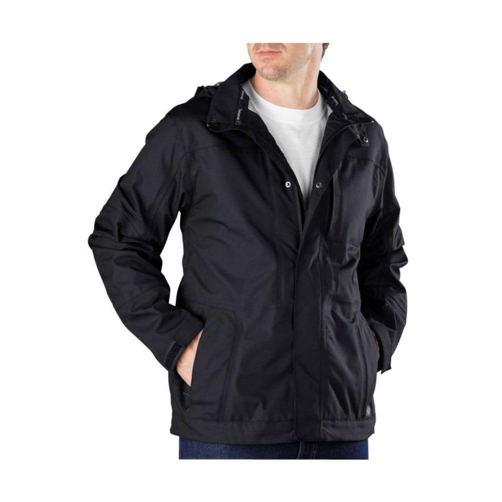 DICKIES Men's DPS Performance Hardshell Jacket - BLACK