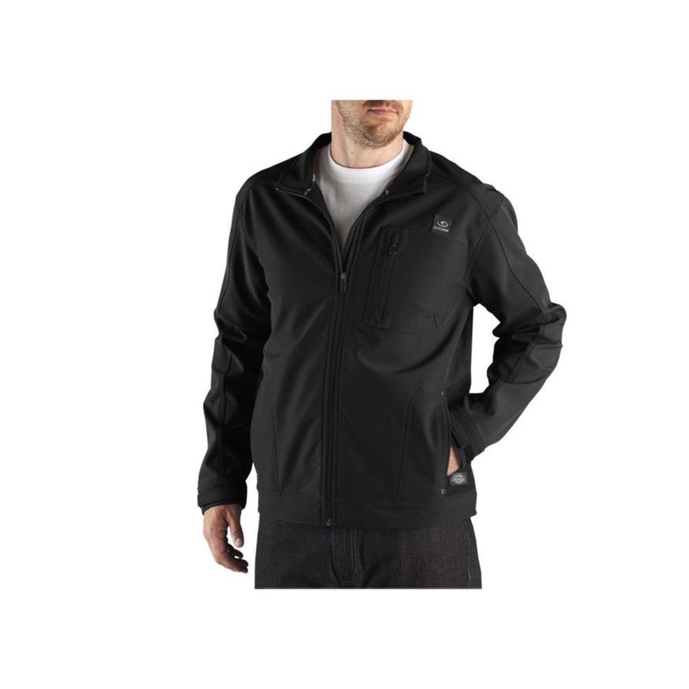 DICKIES Men's DPS Performance Soft Shell Water Resistant Jacket - BLACK