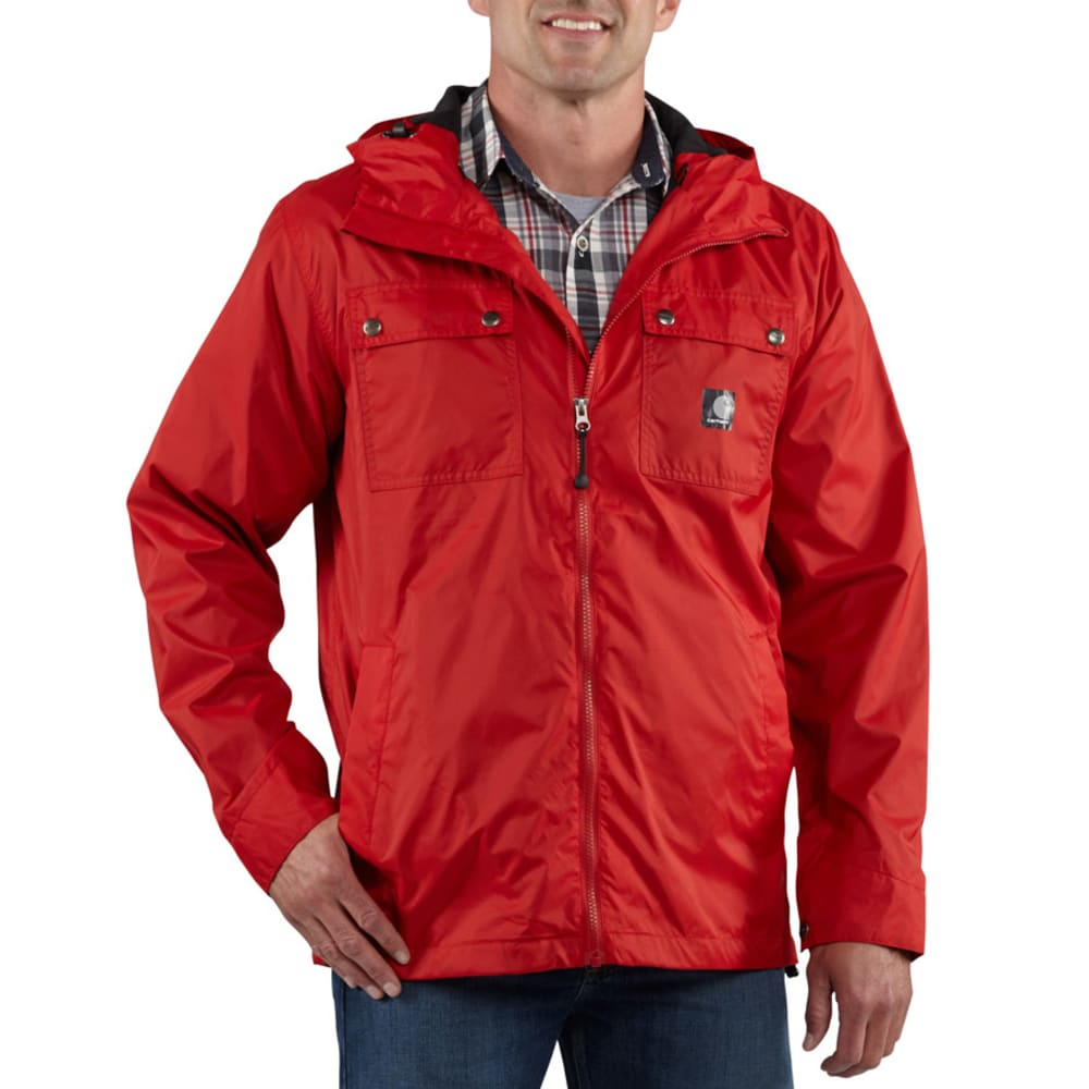 CARHARTT Men's Rockford Jacket - 607 CRIMSON