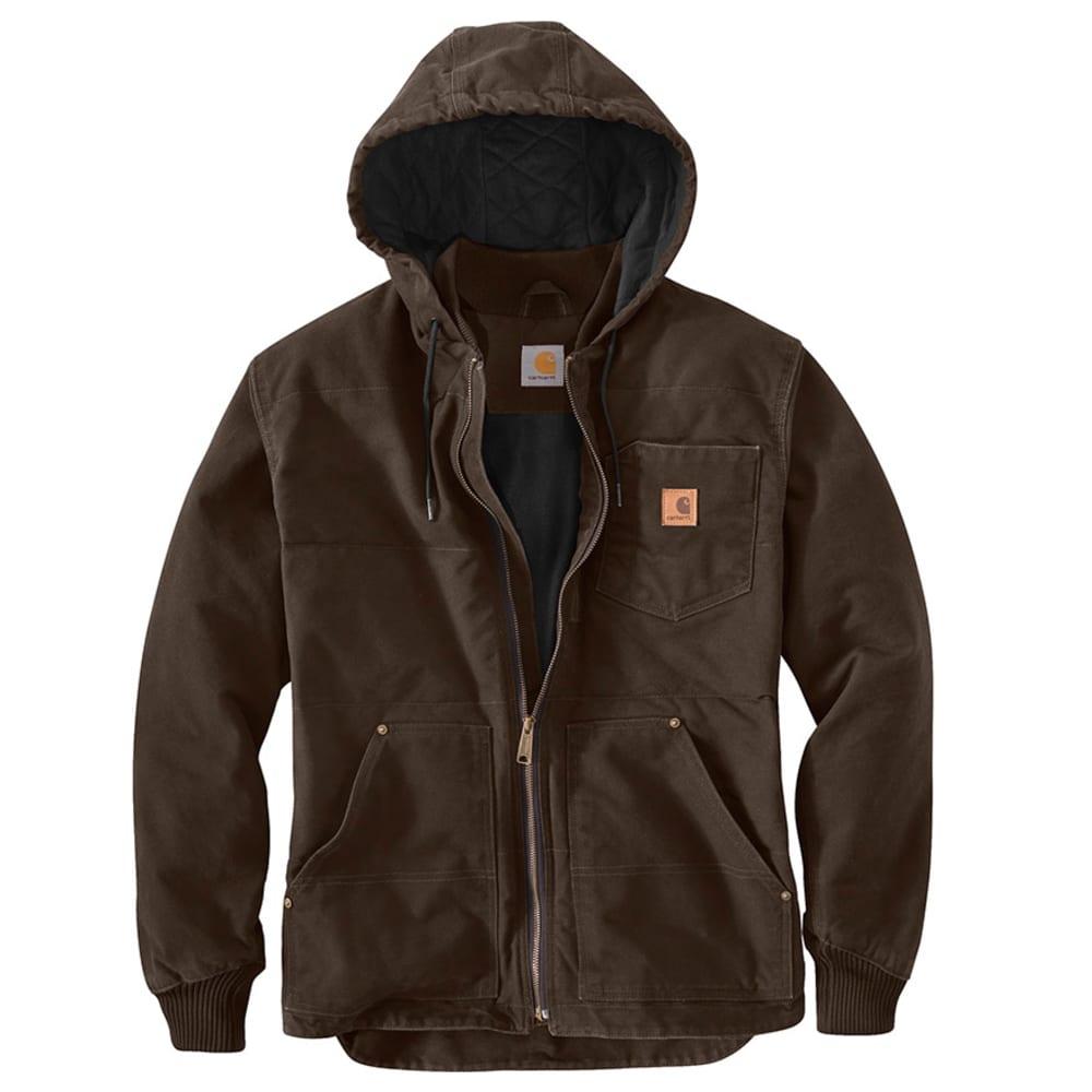 CARHARTT Men's Chapman Jacket - DARK BROWN