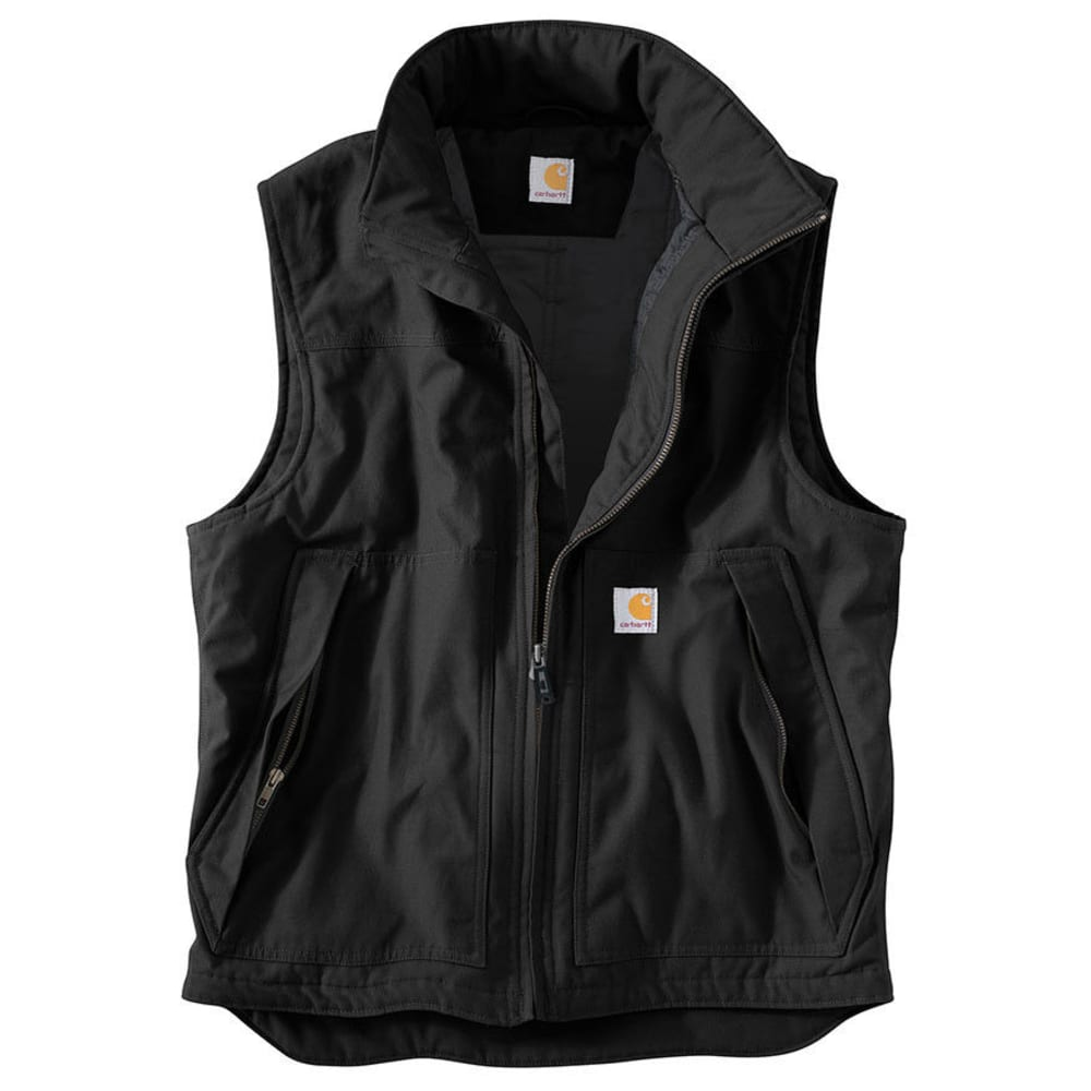 Carhartt Men's Quick Duck Jefferson Vest - Black, M