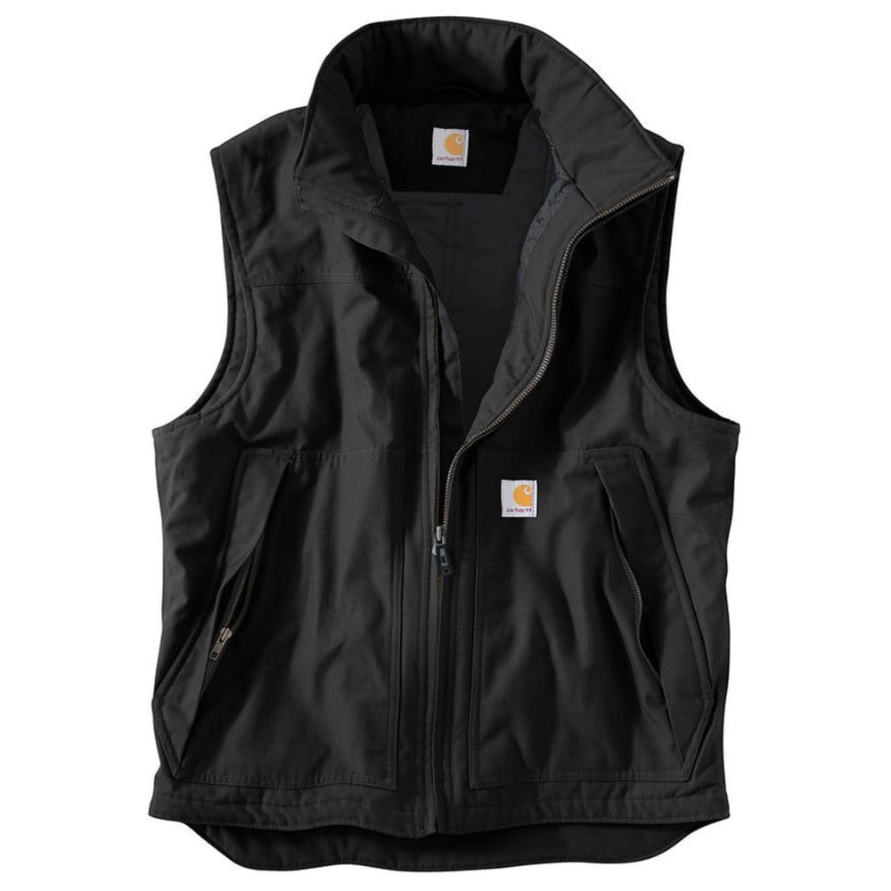CARHARTT Men's Quick Duck Jefferson Vest - BLACK 001