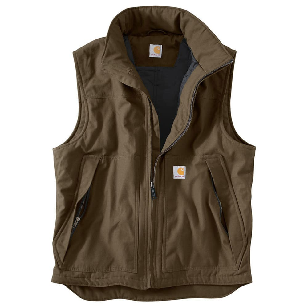 CARHARTT Men's Quick Duck Jefferson Vest - CANYON BROWN 908
