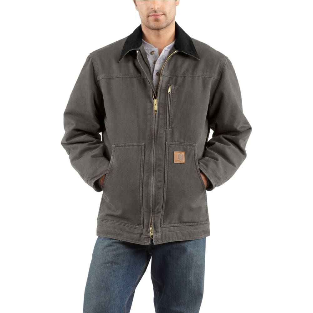 CARHARTT Men's Sandstone Ridge Coat - GVL GRAVEL