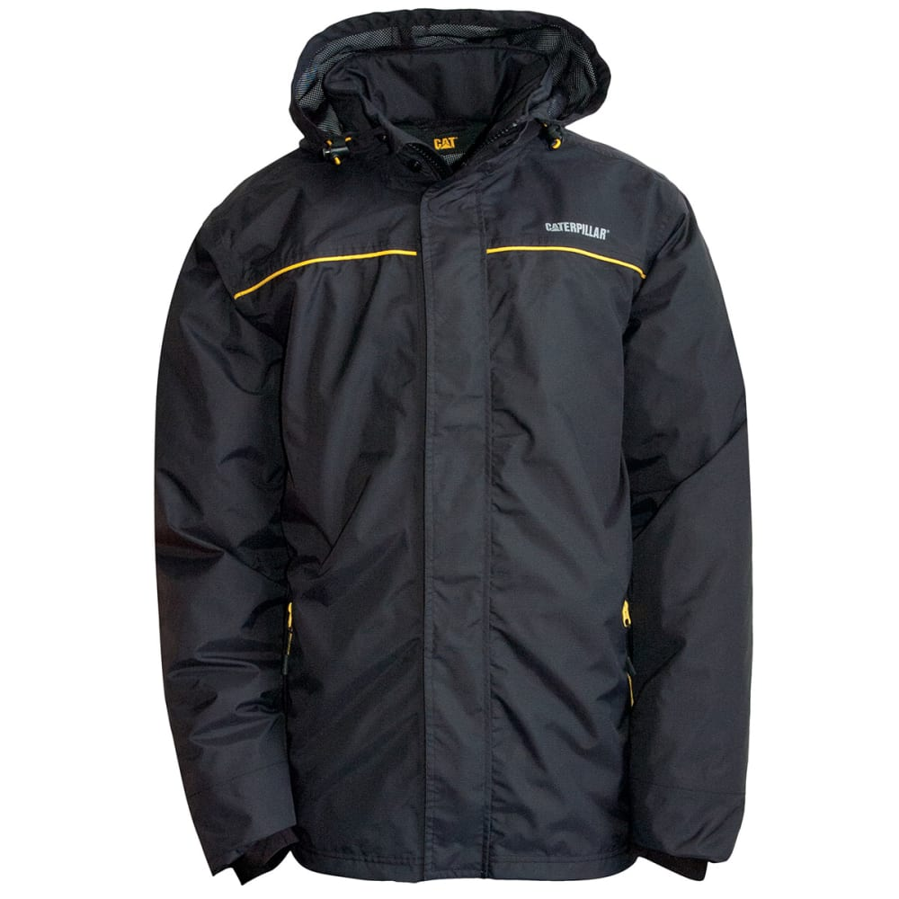 CAT Men's Traverse Hooded Jacket - Black, M