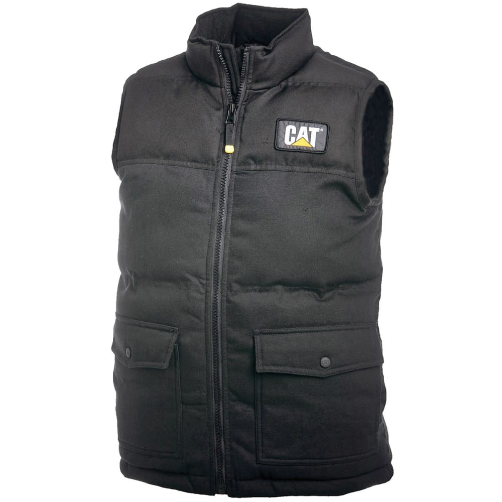 CATERPILLAR Men's Trademark Vest - 016 BLACK