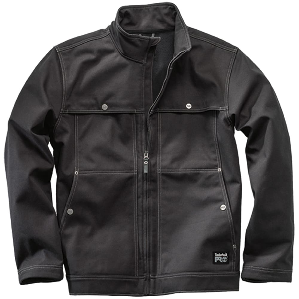 TIMBERLAND PRO® Men's Stud-Lee Canvas Windproof Jacket - BLACK 015