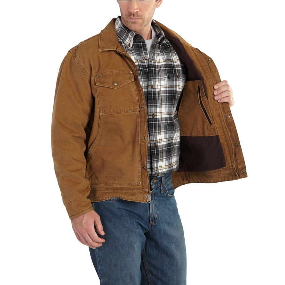 CARHARTT Men's Berwick Jacket - 211 CARHARTT BROWN