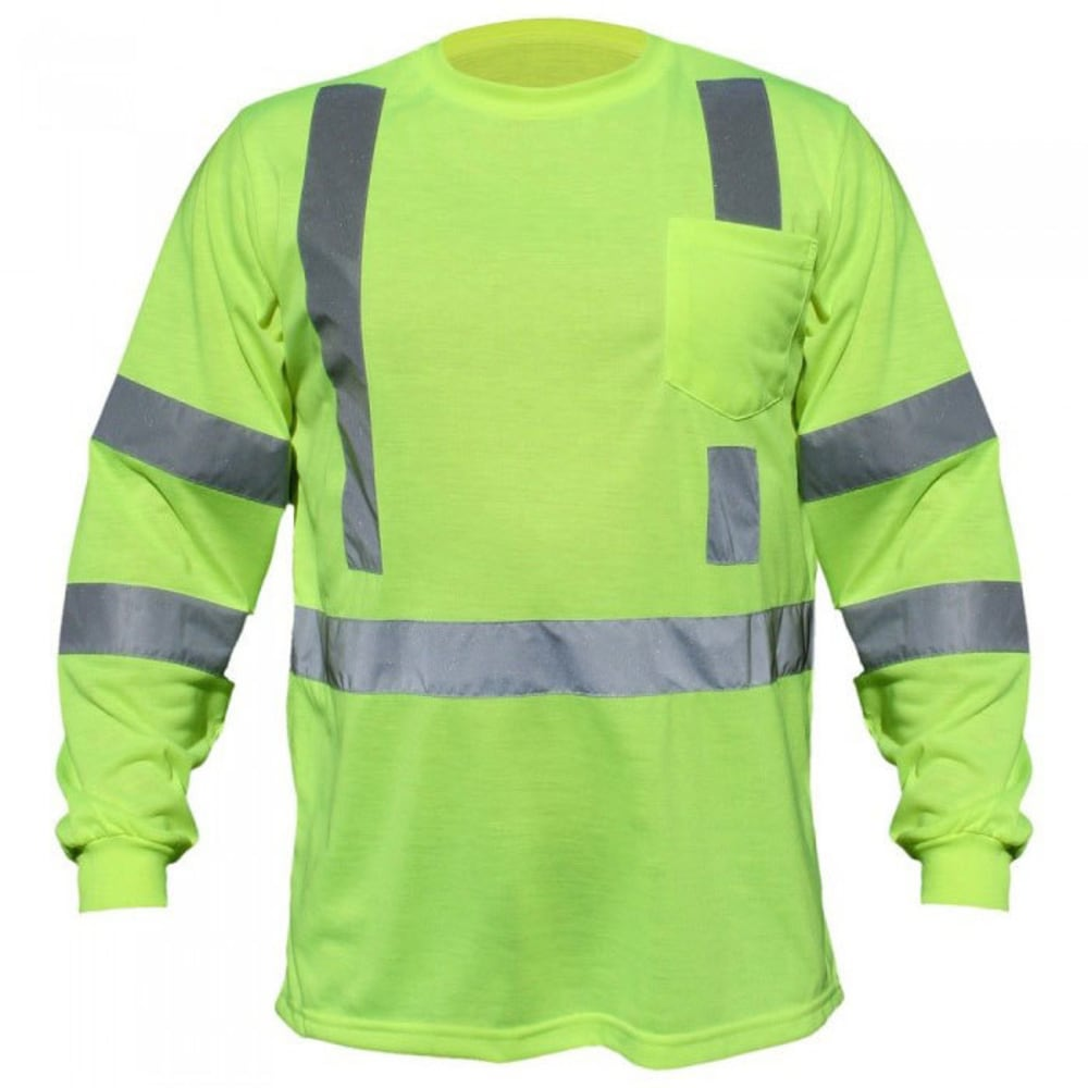 UTILITY PRO WEAR UHV401 Pocket Tee - LIME