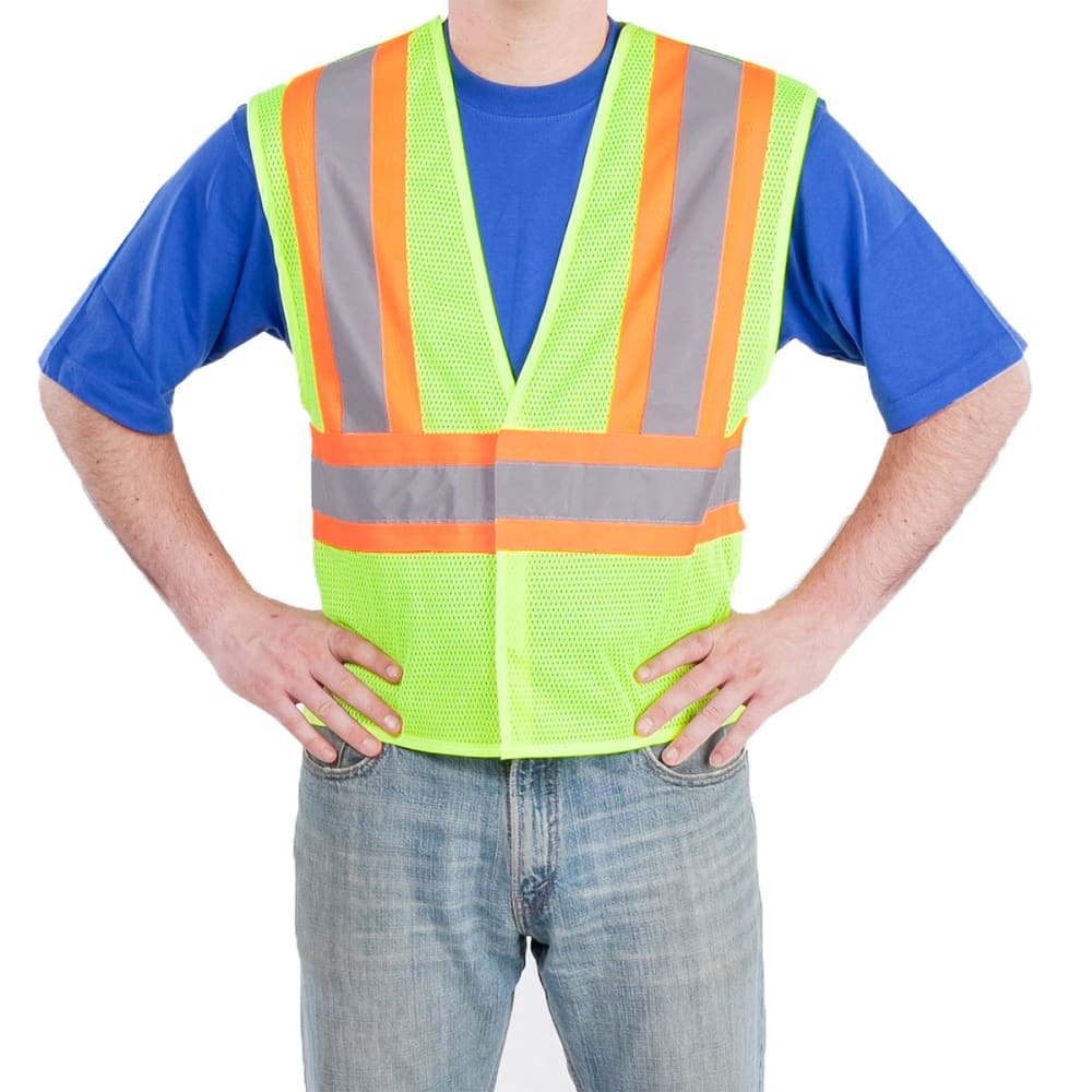 UTILITY PRO Men's High-Visibility Tear-Away Vest - LIME