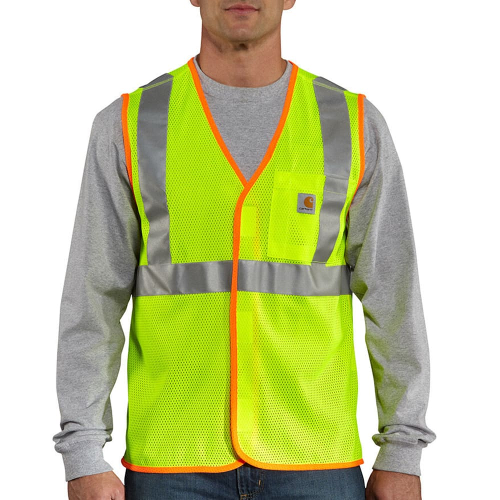 CARHARTT Men's Big and Tall High-Visibility Class 2 Vest 3XL