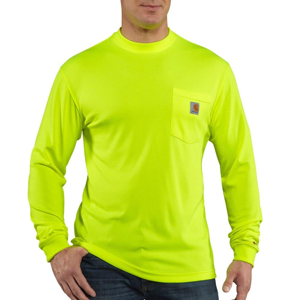 CARHARTT Men's Force T-Shirt, Extended sizes L TALL