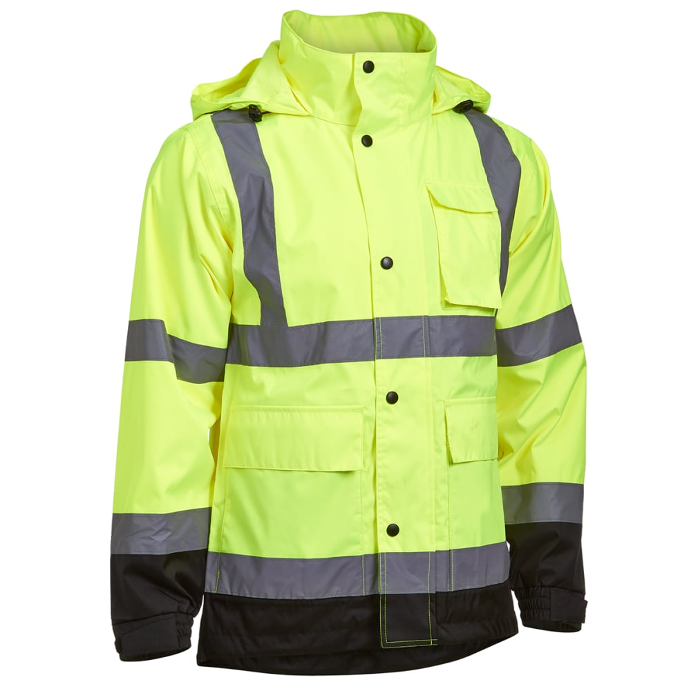UTILITY PRO Men's High-Visibility Reflective Jacket - LIME