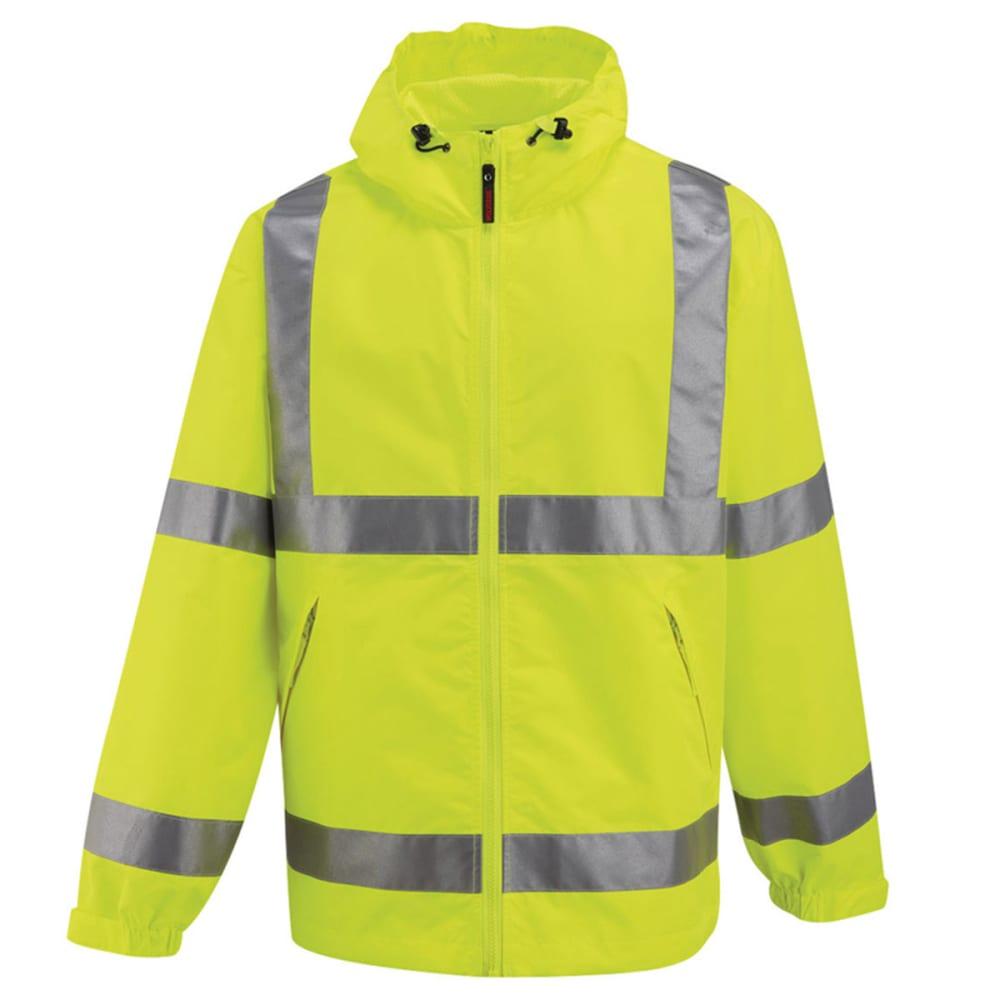 WOLVERINE Men's Flash Rain Jacket - ALGAE