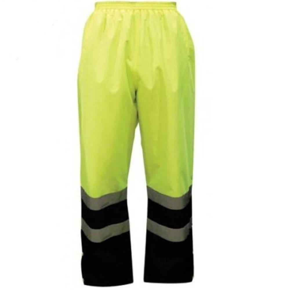 OLD TOLEDO Men's Utility Pro ANSI Class E Rain Pants - LIME