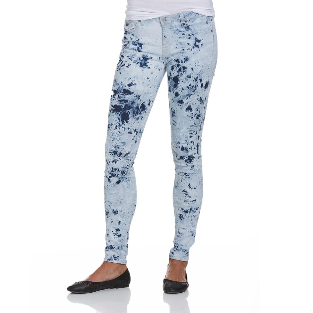 BEE & CECI Juniors' Jeans - MARBLE ACID WASH