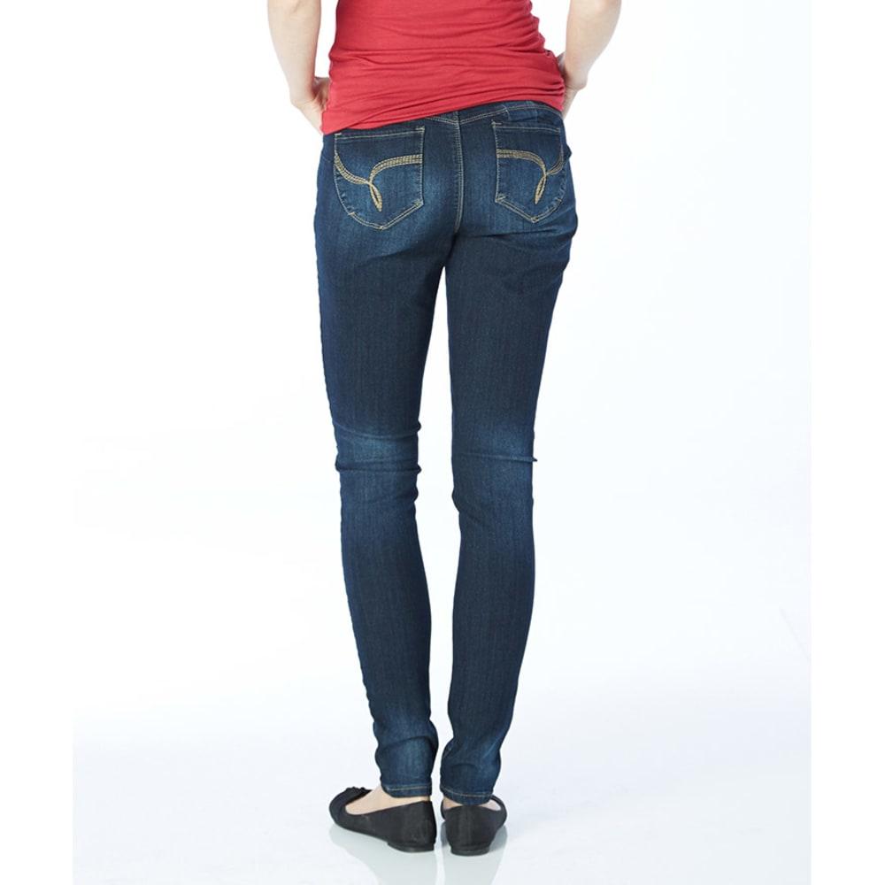 Y.M.I. Juniors' Wanna Betta Butt Skinny Jeans - DARK WASH