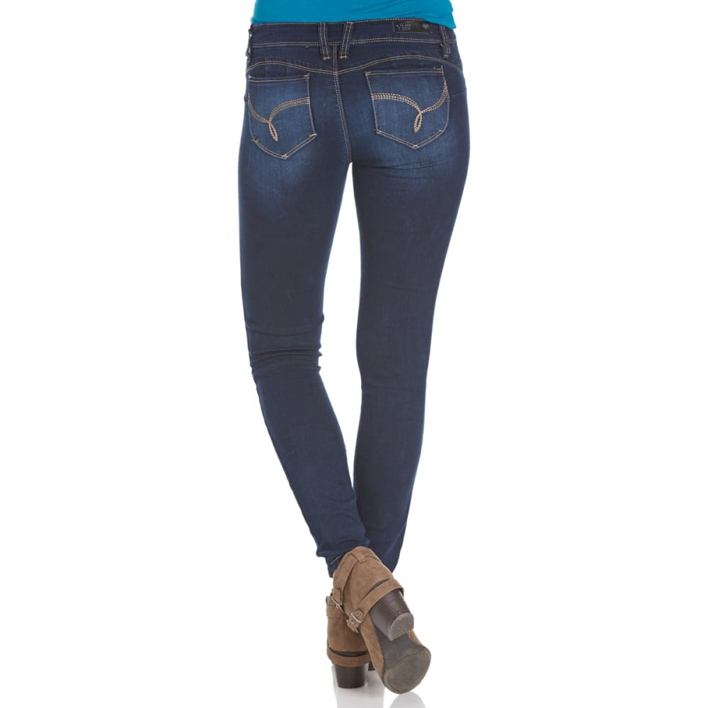 YMI Juniors' Wanna Betta Butt Jeggings - S08-DRK WASH
