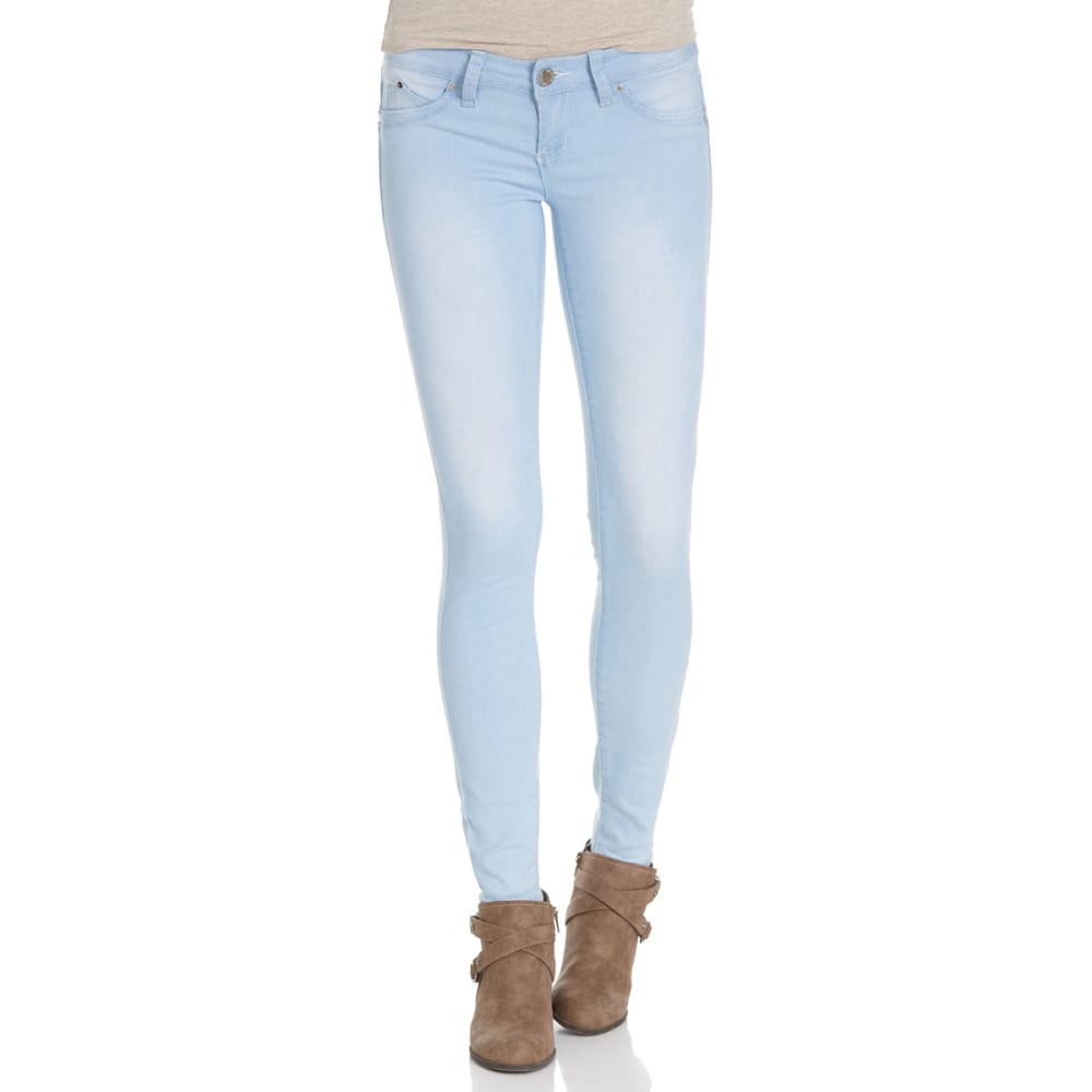 YMI Juniors' Wanna Betta Butt Jeggings - Q36-LT WASH