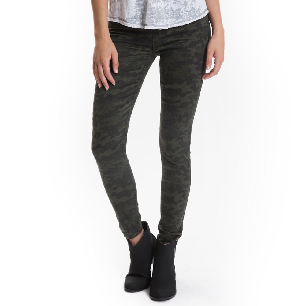 UNIONBAY Juniors' Clara Stretch Jeggings - OLIVE