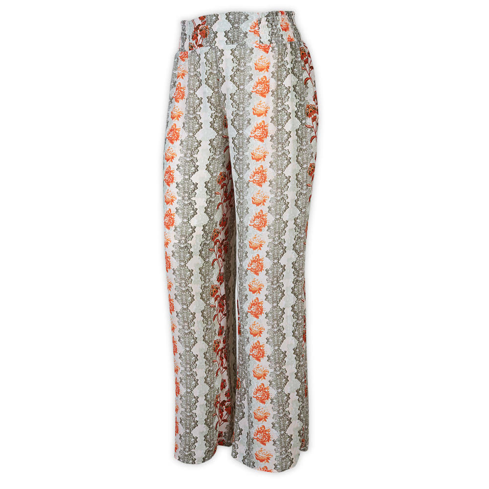 TAYLOR & SAGE Juniors' Vertical Print Palazzo Pants - MULTI