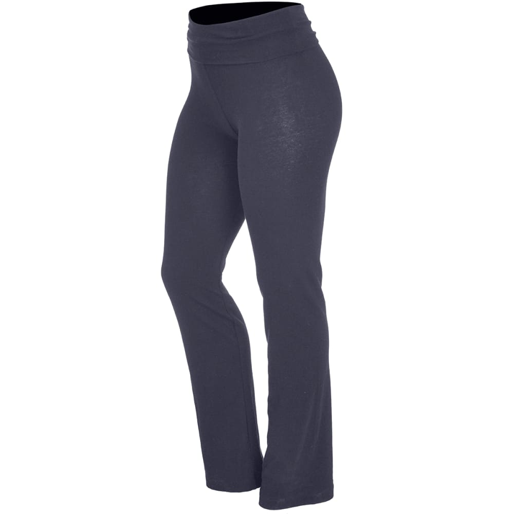 ZENANA Juniors' Yoga Pants - CHARCOAL