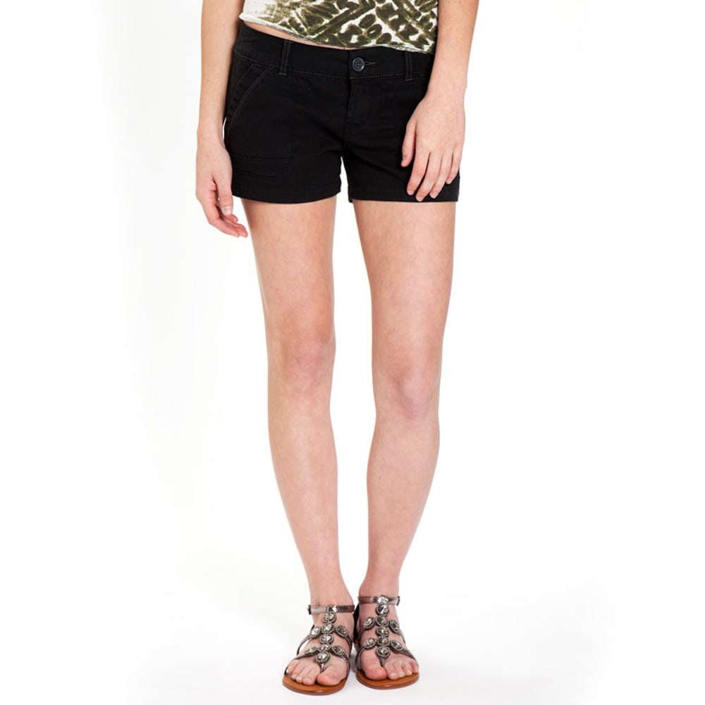 UNIONBAY Juniors' Diana Shorts - BLACK