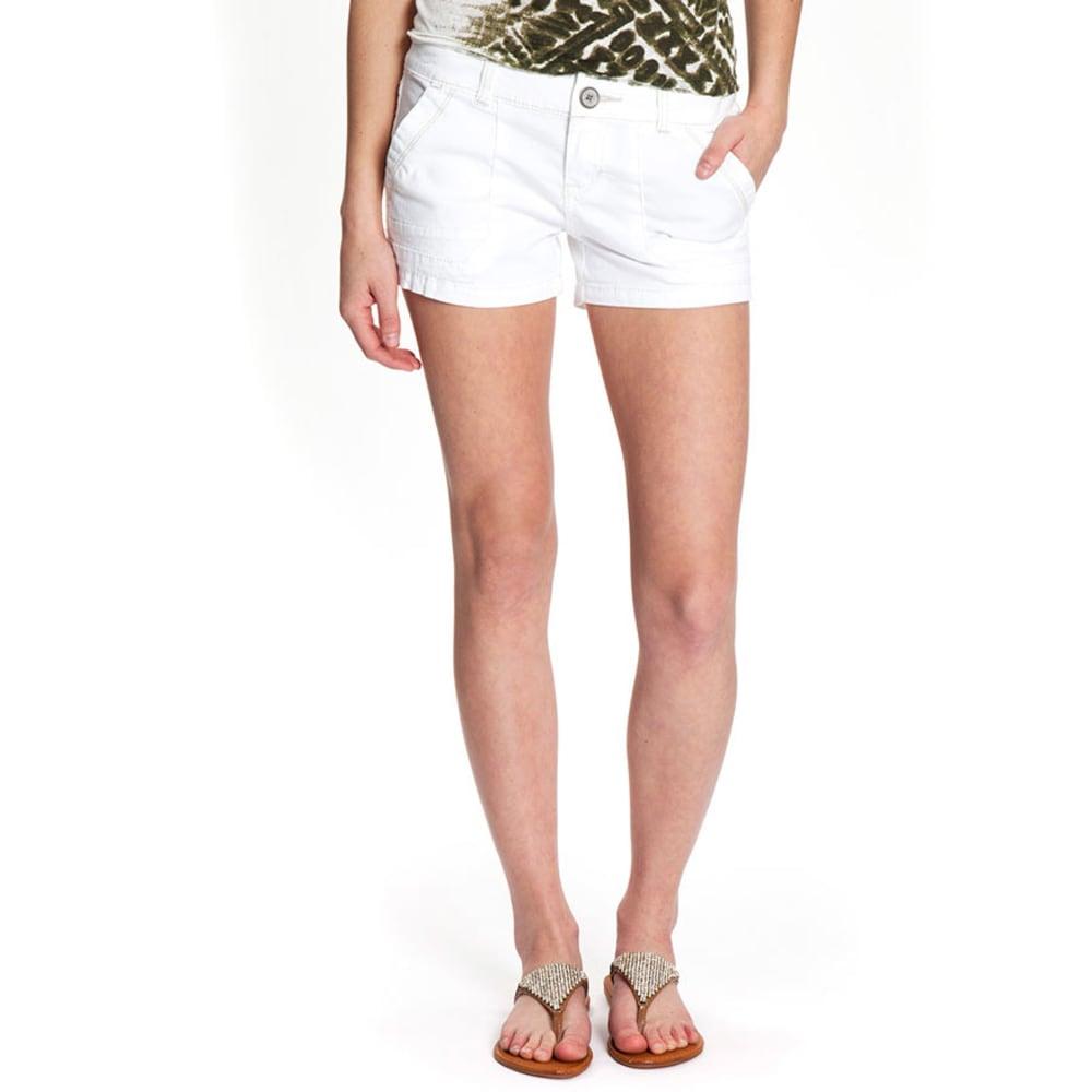 UNIONBAY Juniors' Diana Shorts - WHITE