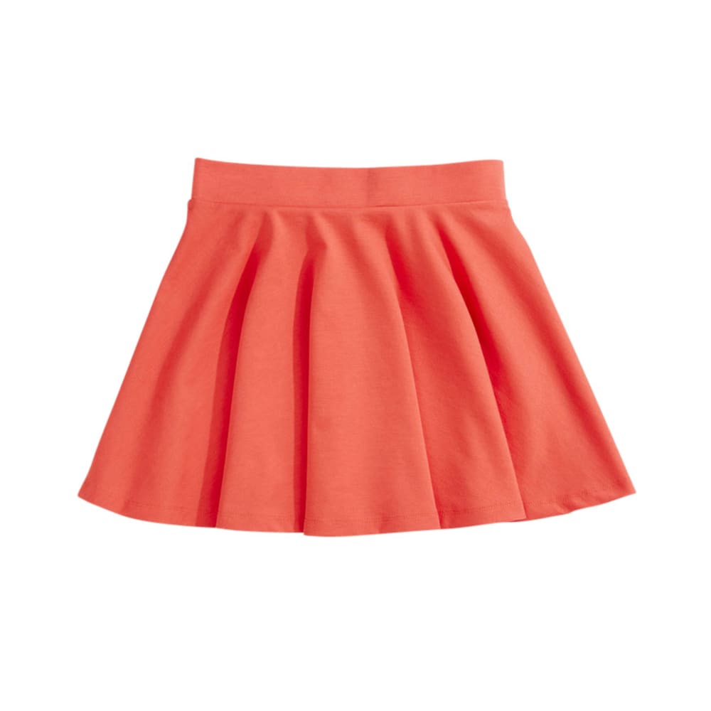 AMBIANCE Juniors' Knit Skater Skirt - CORAL