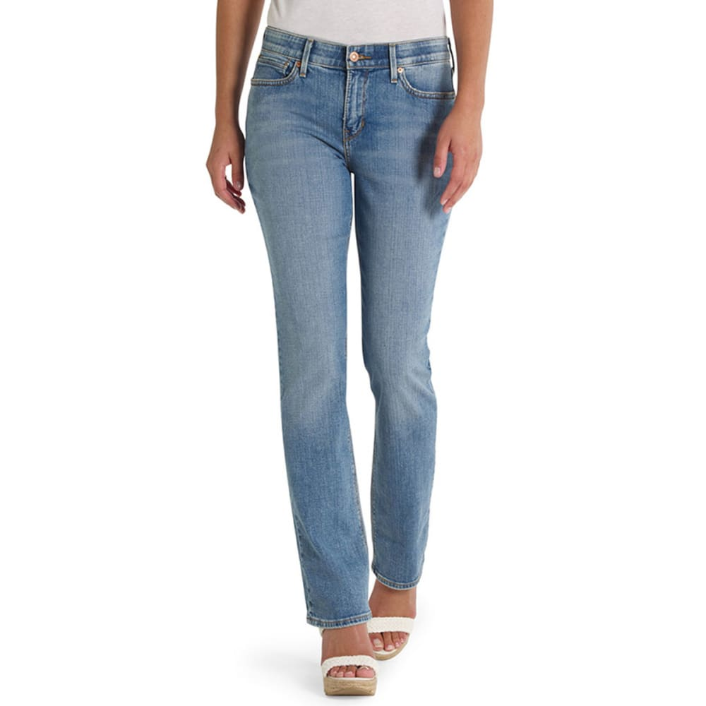 LEVI'S Women's 525 Straight Cut Jeans - 0005-SKY