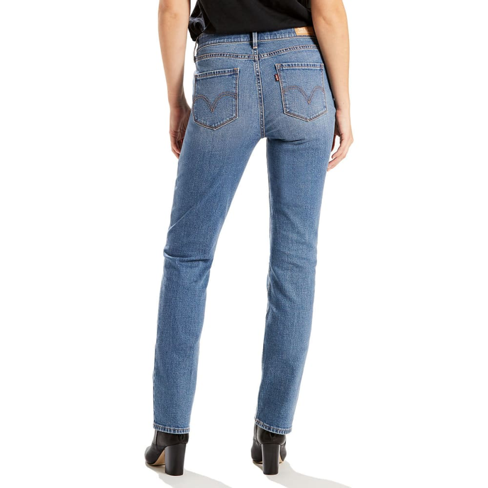 LEVI'S Women's 525 Straight Cut Jeans - 0057-BEAR CREEK