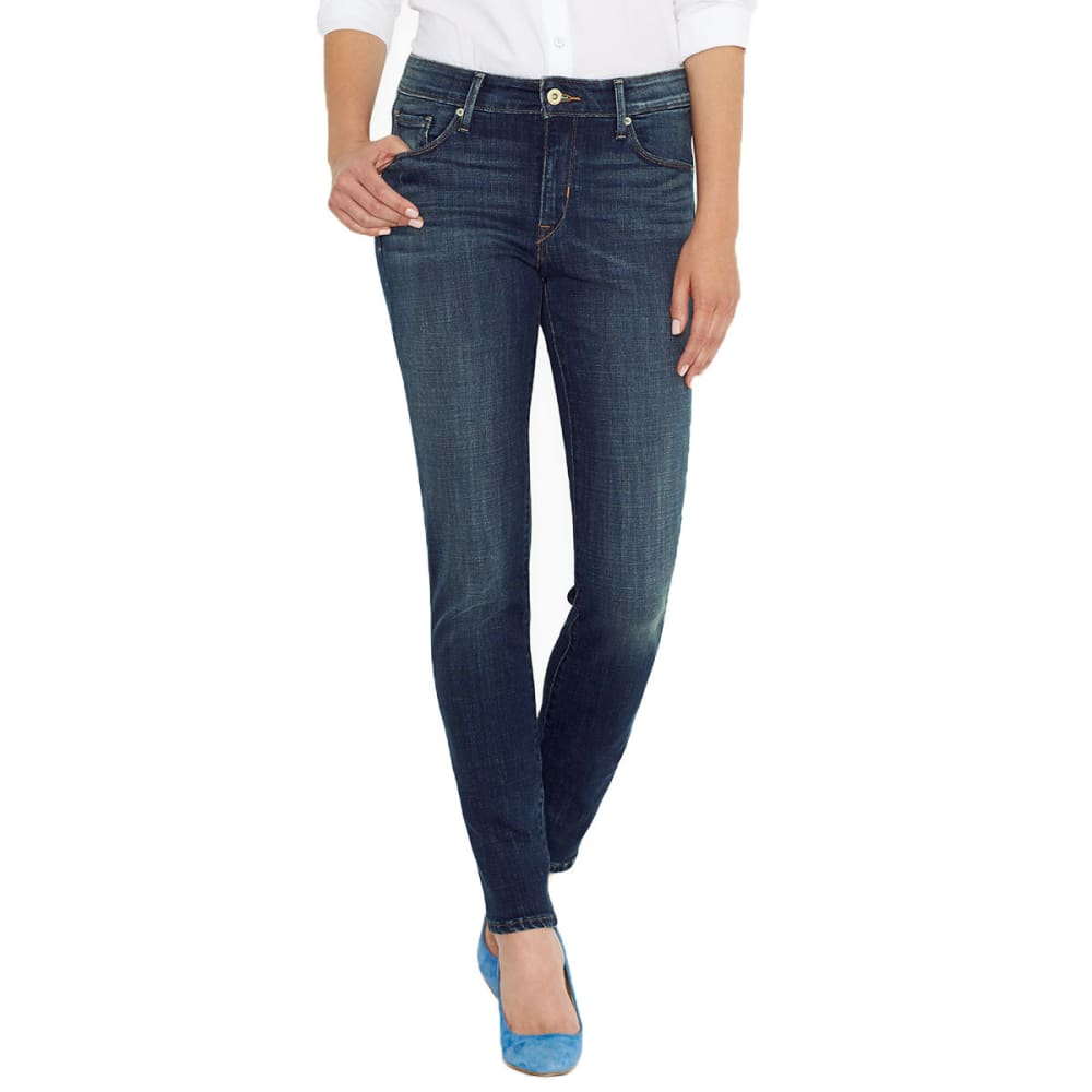 LEVI'S Women's Mid Rise Skinny Jeans - 0117LUCK OUT WEST