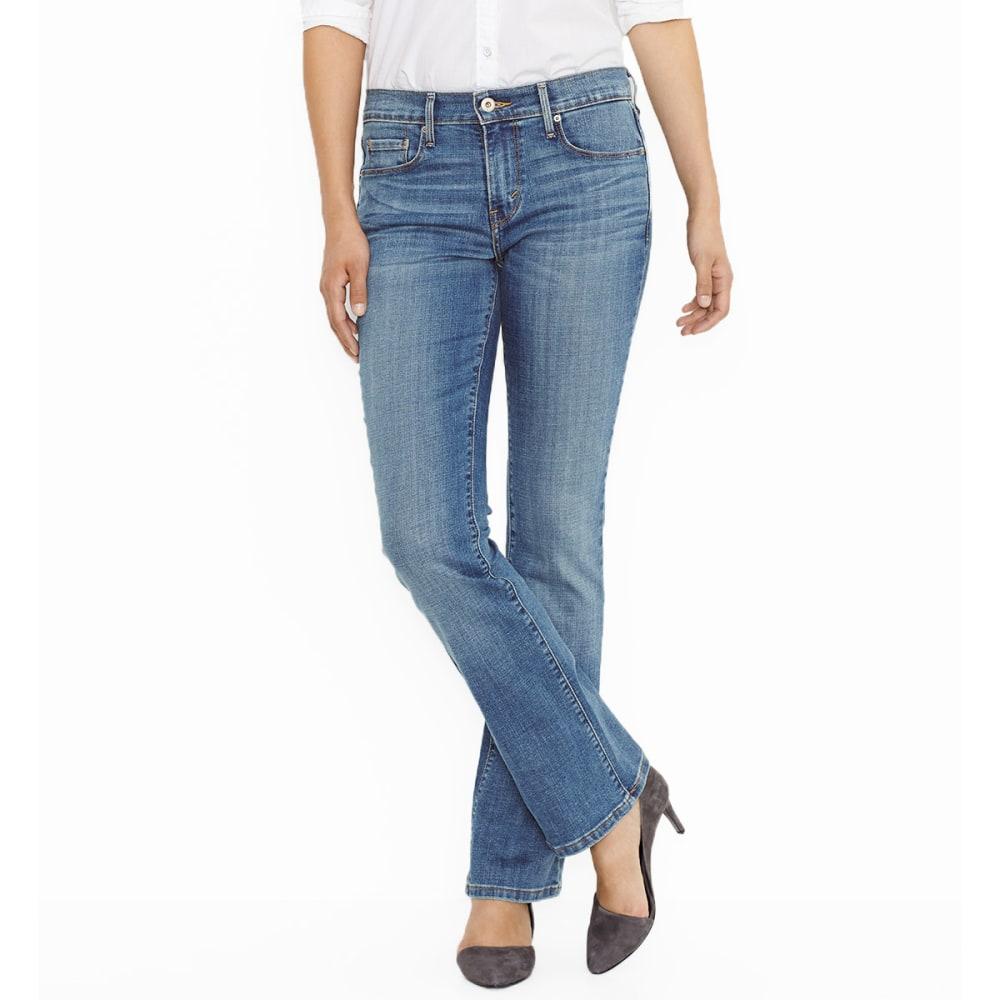 LEVI'S Women's 515™ Bootcut Jeans - 0135-BLUE SALVATION
