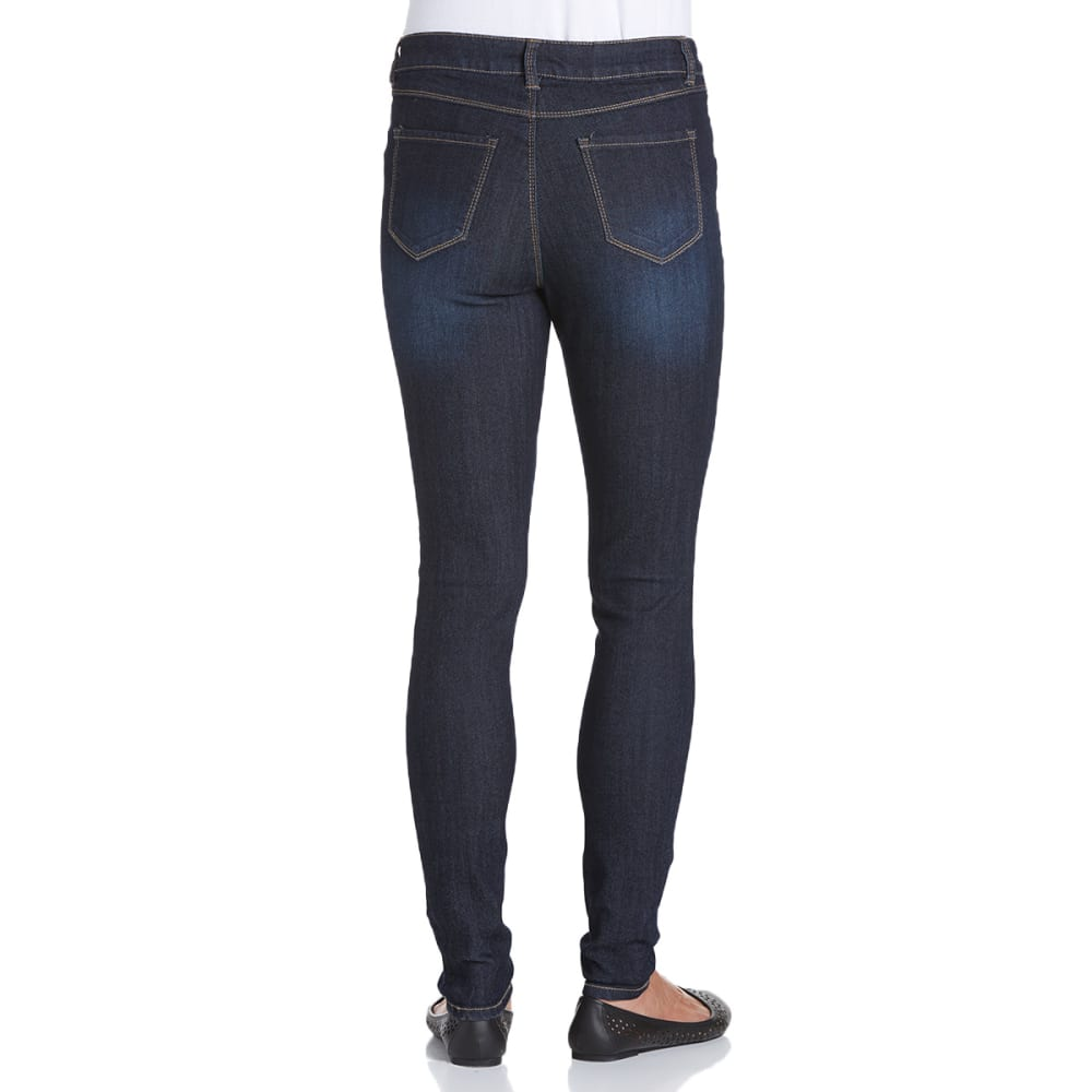 D JEANS Women's Denim Skinny Jeans - NOON BLUE
