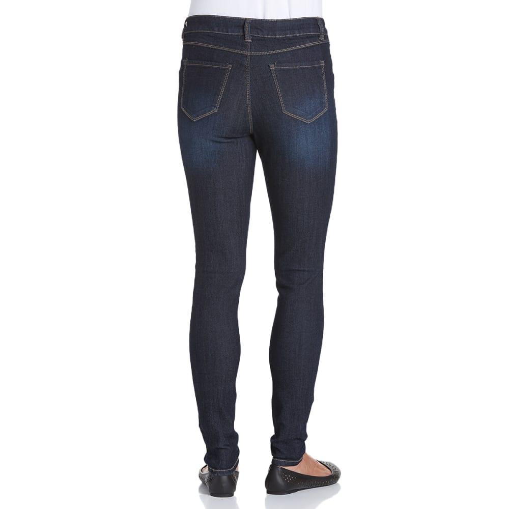 D JEANS Women's Denim Skinny Jeans - NOON BLUE