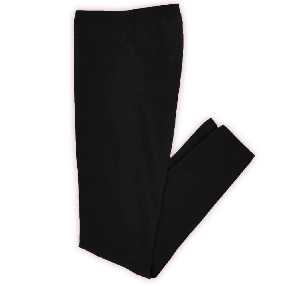 TRESICS Women's Solid Leggings - BLOWOUT - BLACK