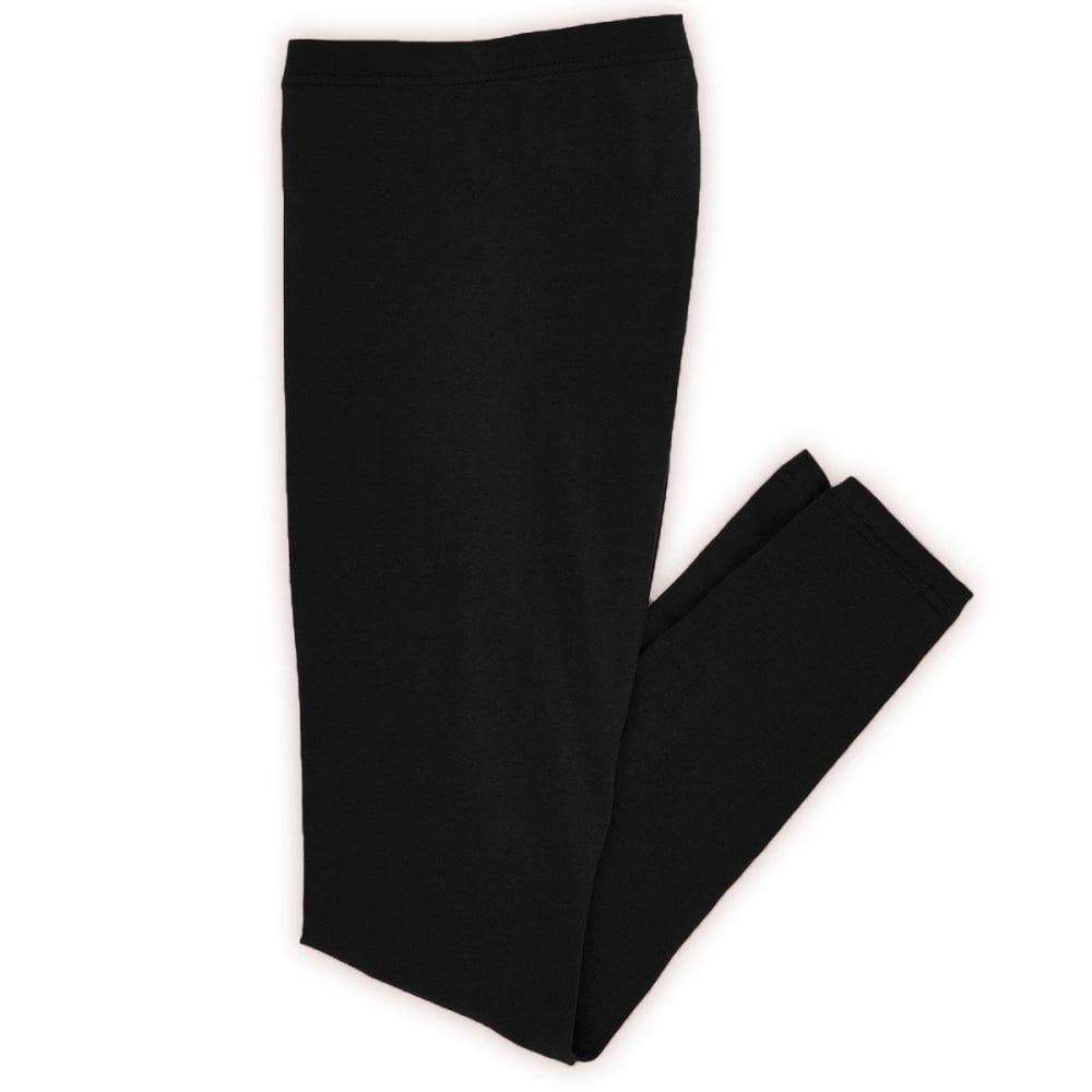 TRESICS Women's Solid Leggings - BLOWOUT - BLACK