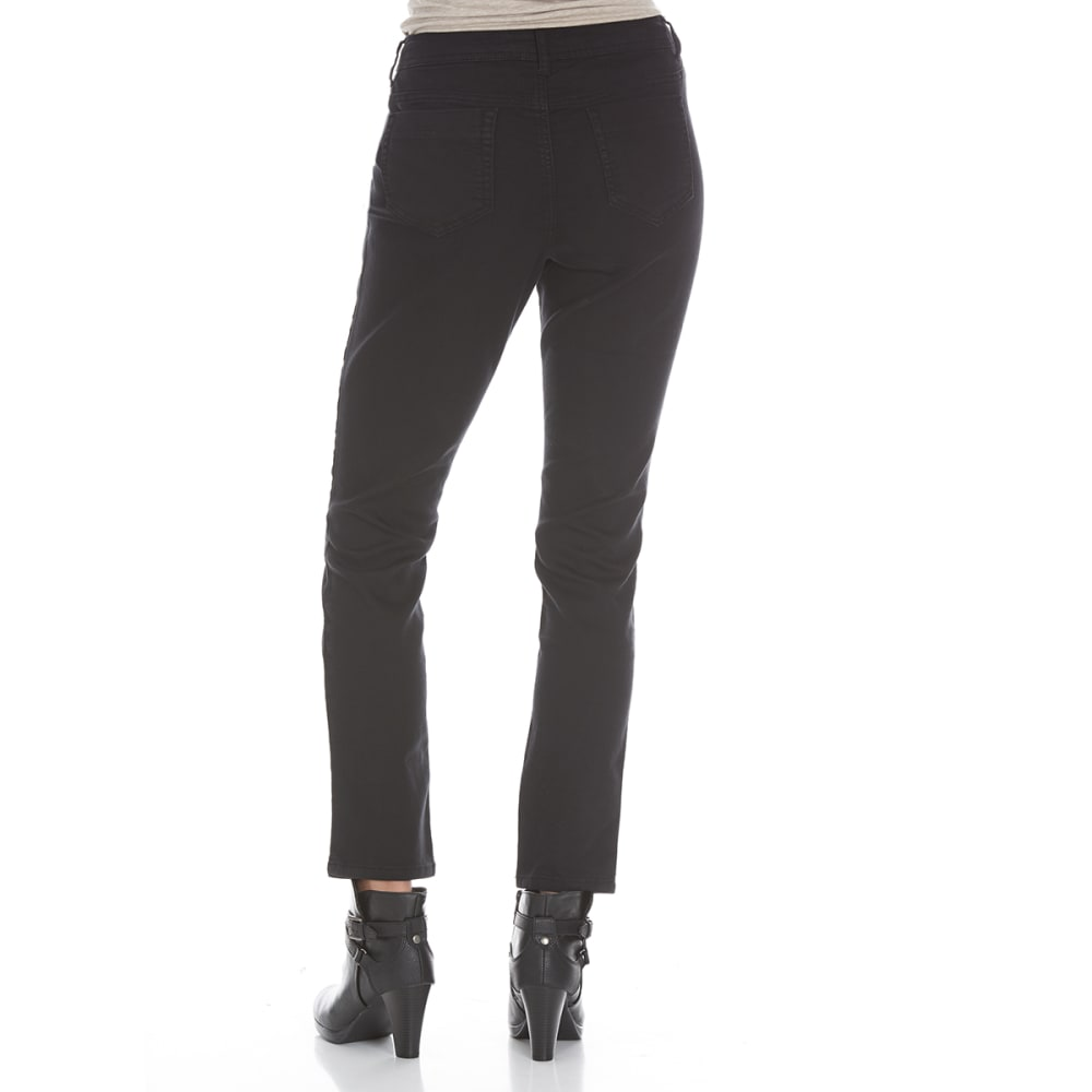 BACCINI Women's Sateen Jegging - BLACK