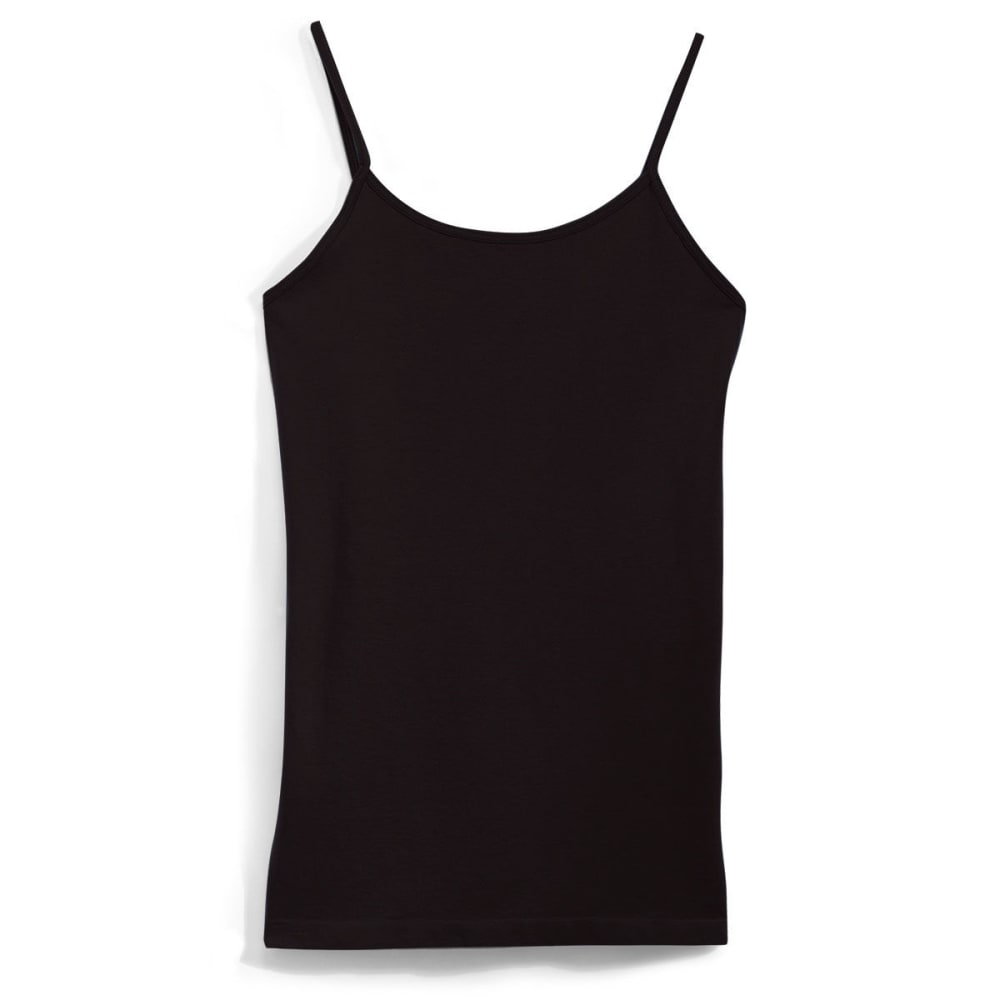 POOF Juniors' Basic Seamless Cami - BLACK