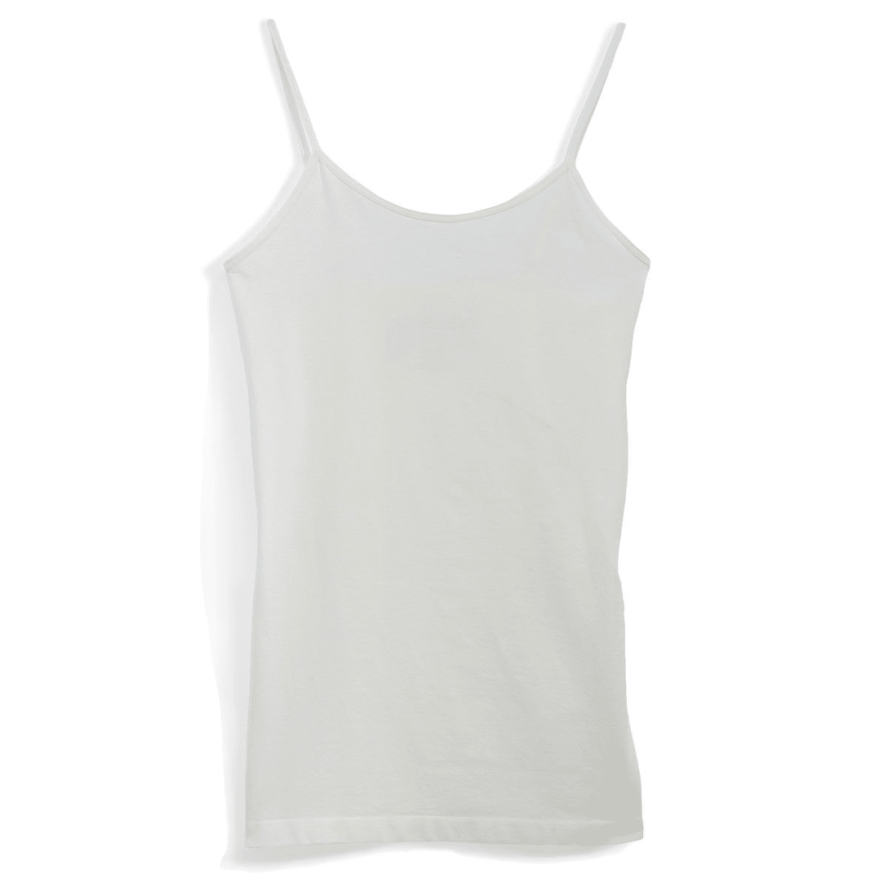 POOF Juniors' Basic Seamless Cami - EGGWHITE