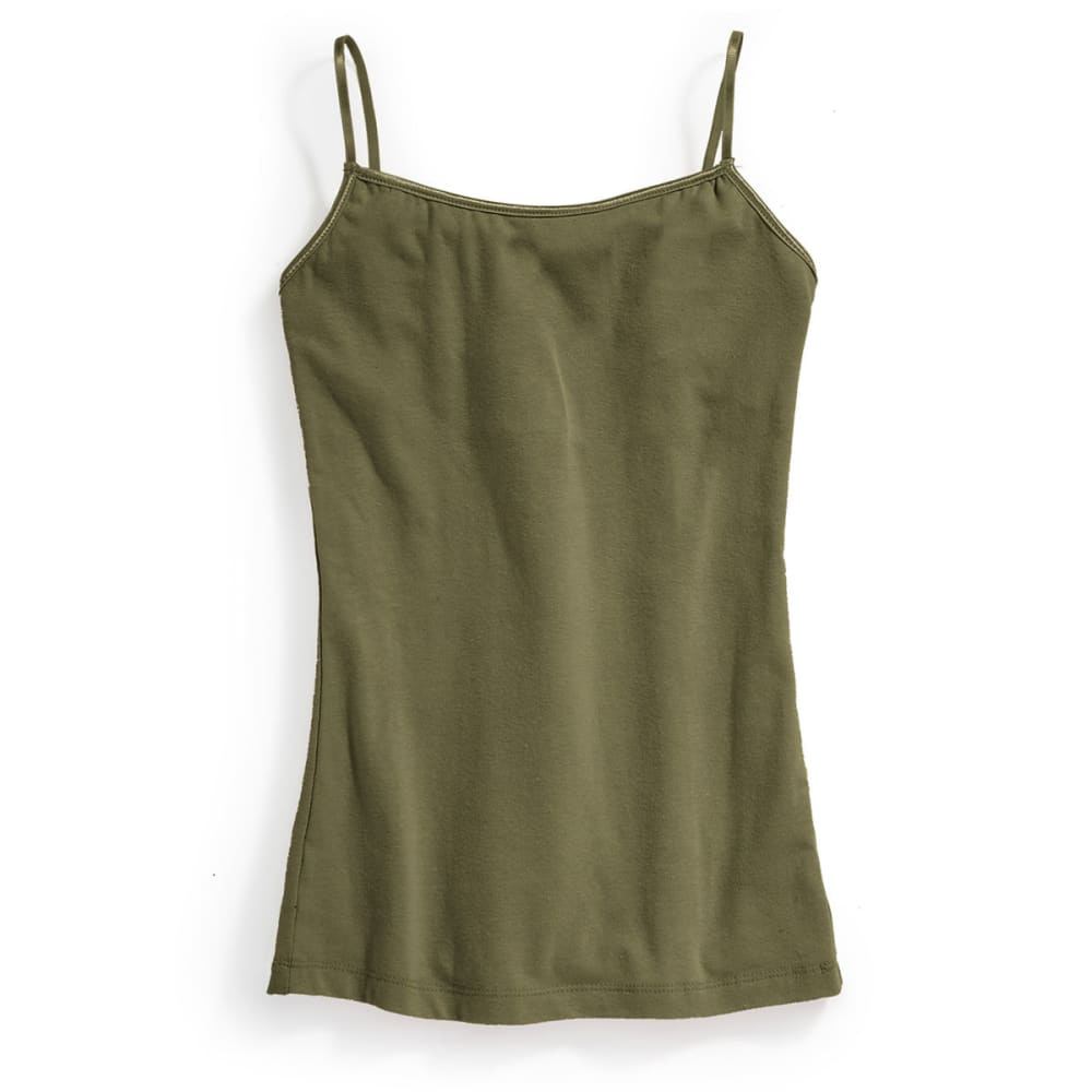 Ambiance Juniors Camisole Tank Top - Green, S