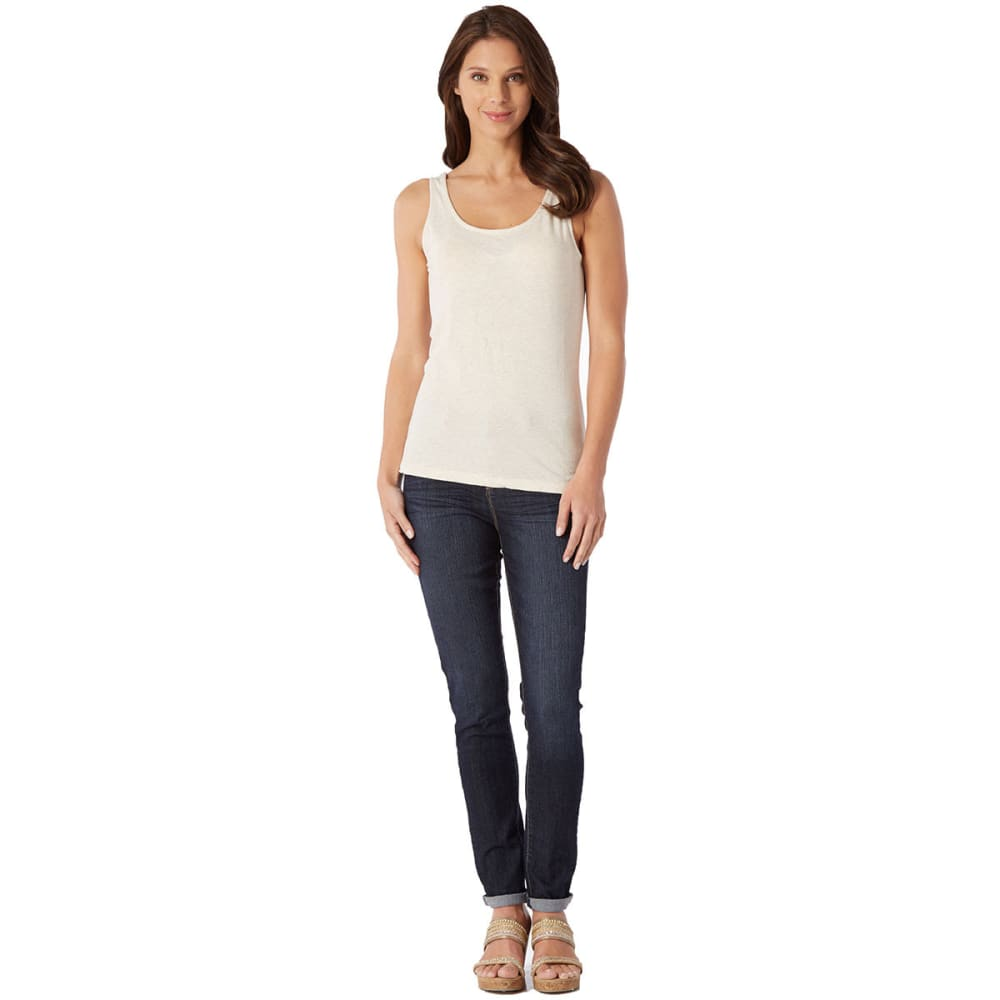 FEMME Women's Wide Strap Tank - BLOWOUT - CREAM