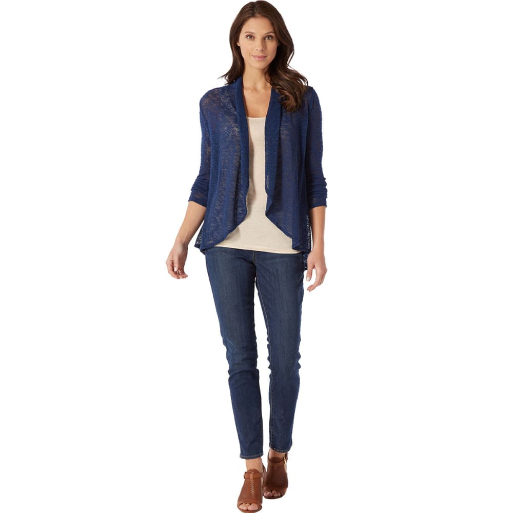 HEPBURN Women's Hatchi Open Cardigan - NAVY